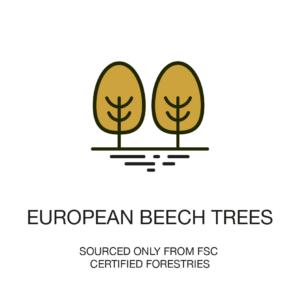 European beech tress- Hochwertige Bettwäsche